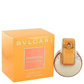 Omnia Indian Garnet Eau De Toilette Spray By Bvlgari 1.4 oz Eau De Toilette Spray