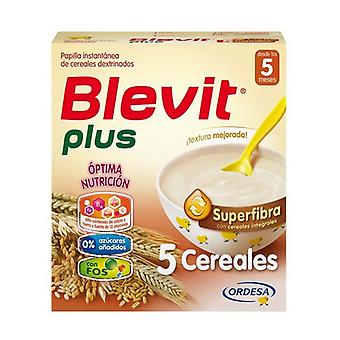 Blevit Plus Superfiber 5 Cereals 5m + 600g