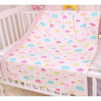 Newborns Baby Duvet Cover Cotton Soft Bedding Quilt Blanket, Breathable