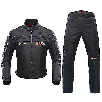 Cold-proof  Jacket Moto & Protector Motorcycle Pants Moto Suit And Touring