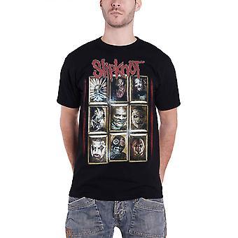 Slipknot T Shirt Band logo Gray Chapter Official Mens Black