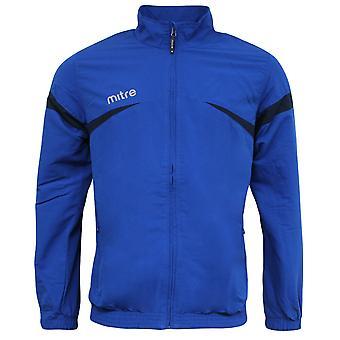 Mitre Polarize Zip Up Royal Blue Navy Mens Sports Track Jacket T50103 RAF A17B