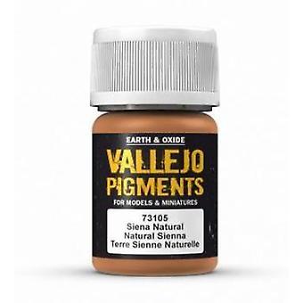 VAL73105 Pigment Vallejo - Sienne naturelle
