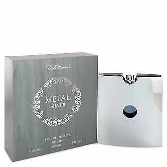 Metal Silver by Ron Marone Eau De Toilette Spray 3.4 oz / 100 ml (Men)