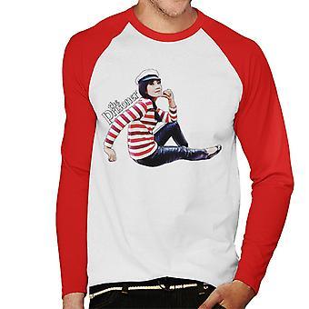 The Prisoner Number 16 Men's Baseball Long Sleeved T-Shirt
