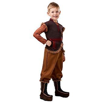 Frozen Kristoff Frozen 2 Deluxe Costume Childrens 3-4 Years