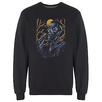 Modern Vampire Graphic Sweatshirt Men's -Image by Shutterstock
