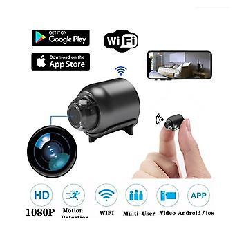 الأمن كاميرا IP 1080P 160 درجة ليلة الرؤية الصوت إعادة ترتيب لاسلكي WIFI ميني كاميرا جوجل ف