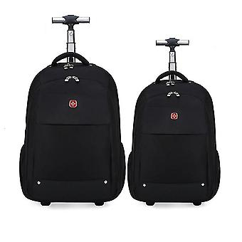 2-in-1 Trolley Backpack Business Trip Bag & Suitcase Laptop Backpack