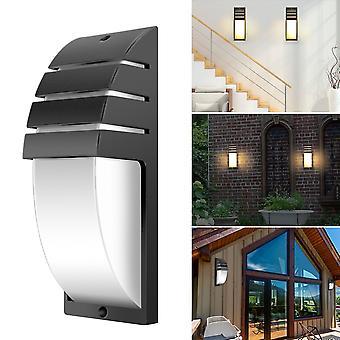 Lampada da parete da esterno led da 8w Lampada minimalista moderna montata a parete 85-265v Mezza barra