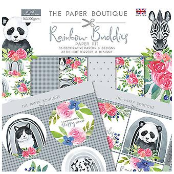 The Paper Boutique - Rainbow Buddies Collection - Paper Kit