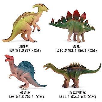 Duży rozmiar Jurassic Wild Life Dinosaur Zestaw ków