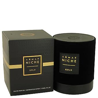 Armaf Niche Gold Eau De Parfum Spray By Armaf 3 oz Eau De Parfum Spray