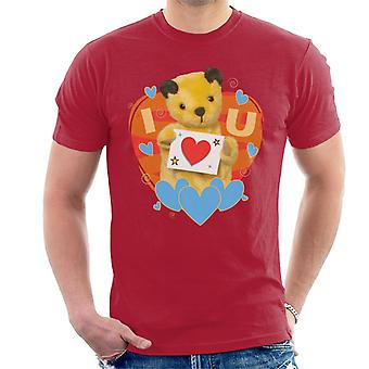 Sooty I Heart You Valentines Men's T-Shirt