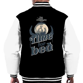 The Magic Roundabout Zebedee Time For Bed Men's Varsity Jacket