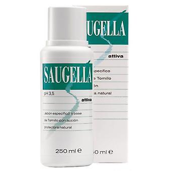 Saugella Attiva Ph 3,5 Liquid Soap with 250 ml