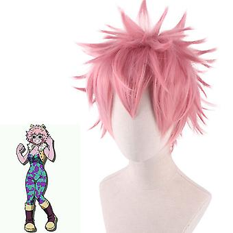 My Hero Academia Anime Wigs Out Curl Wig Cap