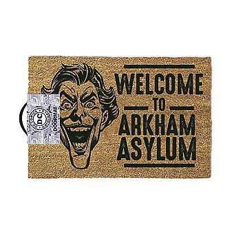 The Joker Welcome to Arkham Asylum Doormat