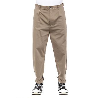 Beige Trousers Men's Men