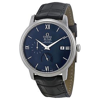 Omega De Ville Prestige Blue Dial Men's Watch 424.13.40.21.03.001