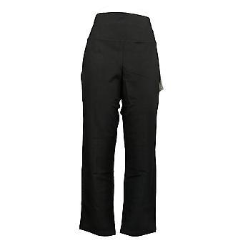 Femmes avec contrôle Petite Leggings Tummy Control Slim Leg Black A284090