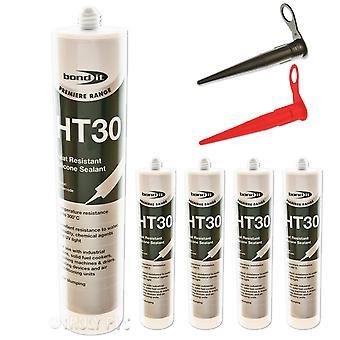 Bond It Bdht30Bl Bondit Ht30 High Temp Silicone Black 310Ml