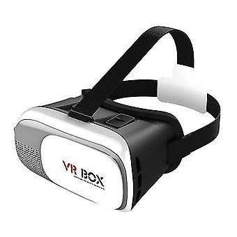 Hordozható 4,7-6 hüvelykes mobiltelefon vr szemüveg doboz film 3D szemüveg headset sisak támogatja myopia felhasználók belül 600 fok 2021
