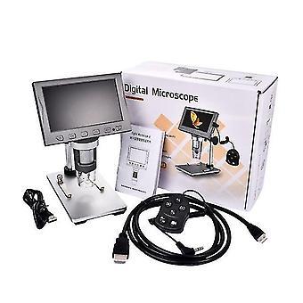 """4.5"""" Wifi & hdmi-compatible digital microscope 12mp 1080p video camera magnifier"""