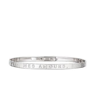 AMIS, MES LOVE, MES EMMERDES-apos; messaggio con posta in argento