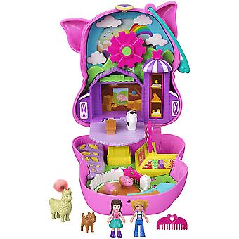 Polly Pocket - Big World Piglet Country Playset