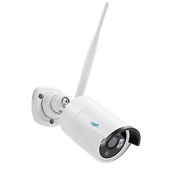 Videobewakingskit PNI House WiFi650 - 4 Full HD Wi-Fi P2P en 12-inch LCD-monitor