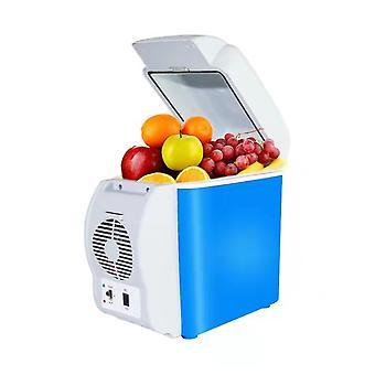 7.5L minibil køleskab bærbar elektrisk køleboks varmere udendørs rejsekøleskab