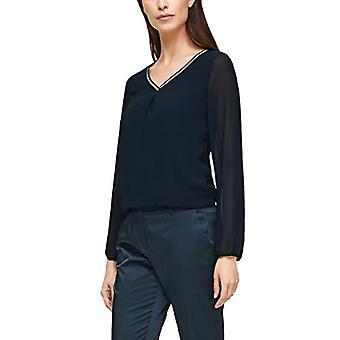 s.Oliver BLACK LABEL 150.10.011.12.130.2062206 T-Shirt, 7977, 44 Donna