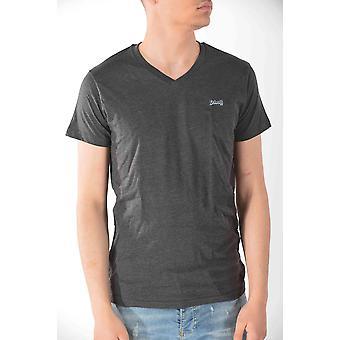 T-shirt short sleeves Anthracite Schott men