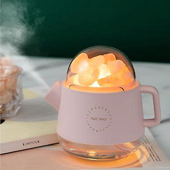 Portable Crystal Aromatheraphy Humidifier USB Wireless Kettle Aroma Oil Diffuse|Humidifiers