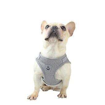 M حزام الأمان الرمادي والمقود تعيين للصغار ال كلابwithout الجر نوع حزام مقعد الكلب x4428