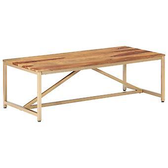 Couchtisch 120X60X40 Cm solid Sheesham Holz