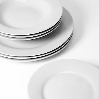 Sabichi Day To Day White Dinner Set 12 Piece