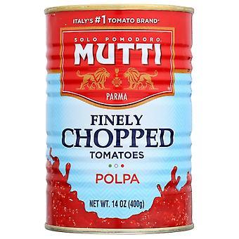 Mutti Tomato Polpa Finely Chppd, Case of 12 X 14 Oz