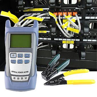 Fiber Optic Ftth Werkzeugkit mit Fc-6s Fiber Cleaver und optischePower Meter 5km