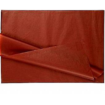 LAST FEW - 25 Full Sheets of Brown No Folds Tissue Paper   Gift Wrap Supplies