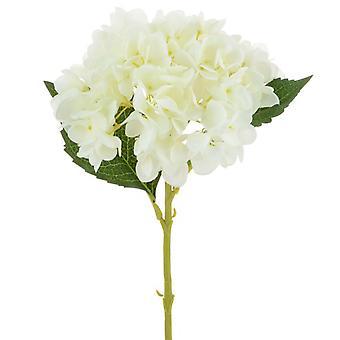 65cm White Artificial Hydrangea Silk Flower for Floristry Crafts