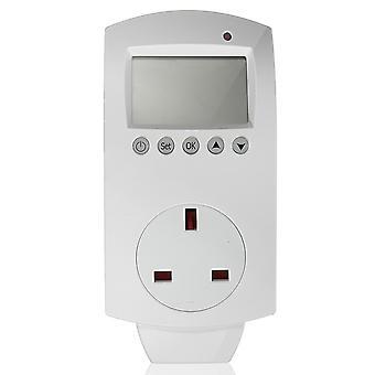 Thermostat de chauffage programmable à contrôleur de température numérique électrique