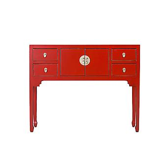 Fine Asianliving Chinese Console Table Lucky Red - Orientique Collection W100xD26xH80cm