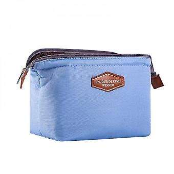 Korean Portable Makeup Bag For Girls And Women, Outdoor Toiletry Travel Pouch, Female Beauty Makeup Organizer