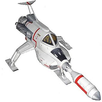 1x Ultra - Hieno Ufo intercropped Lunar Spacecraft 3d Paperi Malli Diy