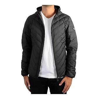 Men's Sports Jacket DOWN  Armani Jeans 8NPB09 PNEIZ Black Nylon