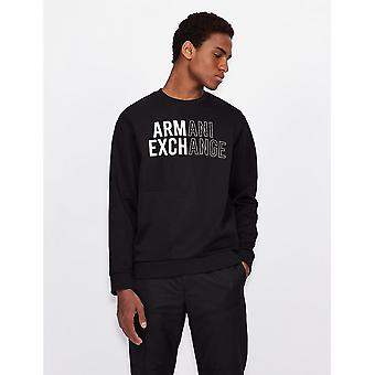 Armani Exchange Armani Exchange Felpa Mens Sweatshirt 6KZMFA ZJY1Z
