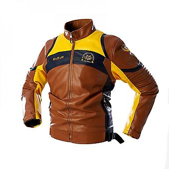 Motorcycle Leather Jacket Cool Style Pu Leather