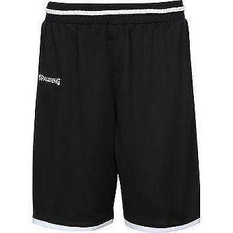 Spalding Move Shorts Mens Basketball Apparel FIBA Confirmé - Noir/Blanc